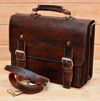 большой классический мужской портфель