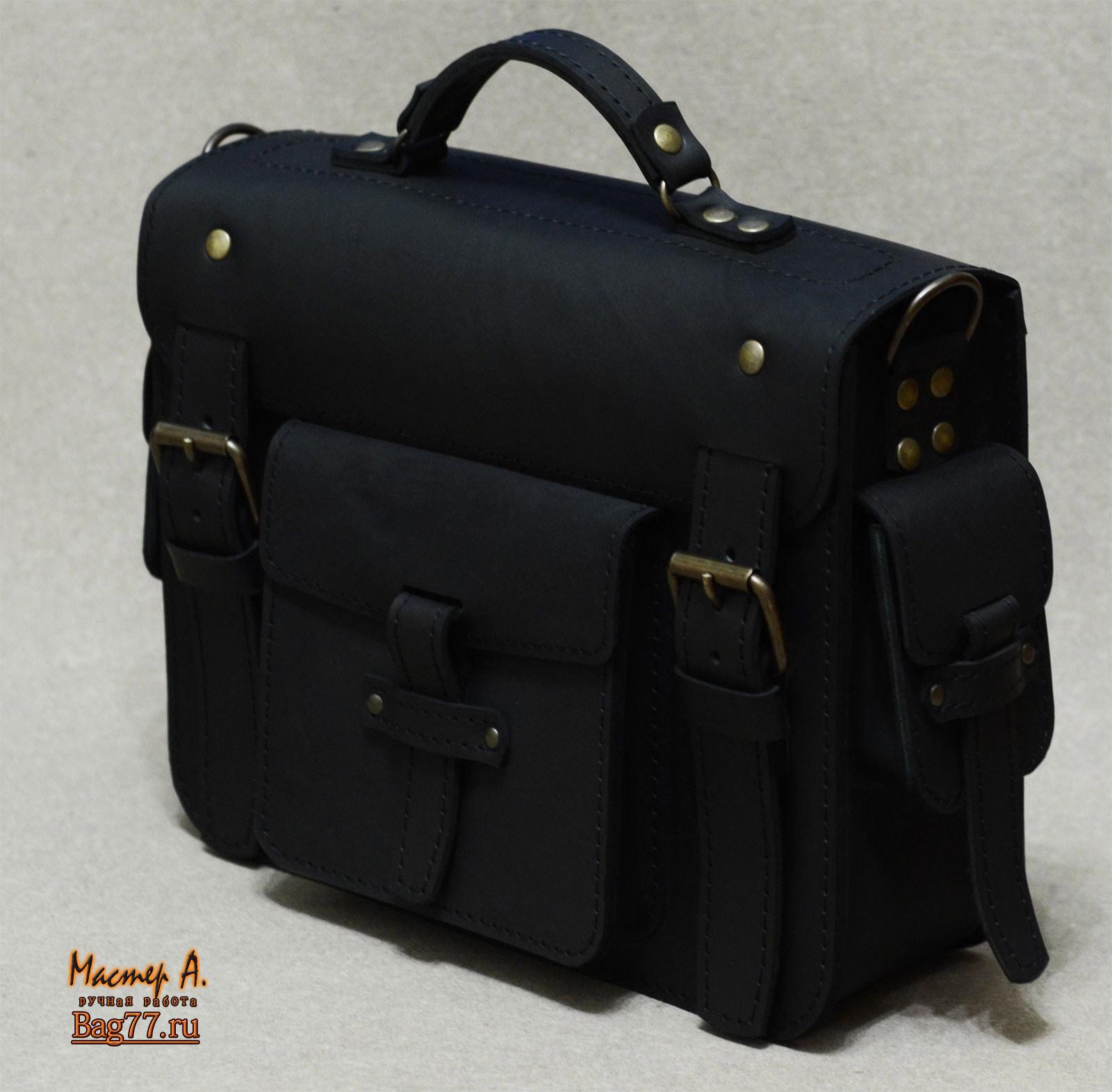941577d88da5 Стильный неклассический кожаный портфель « Bag77.ru — кожаные сумки ...