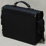 мужской черный портфель ручной работы