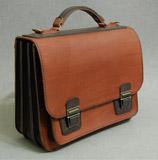 Вместительный портфель на 3 отделения