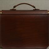 оригинальный двухцветный мужской портфель