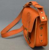 Женская апельсиновая сумочка