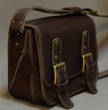 практичная мужская кожаная сумка