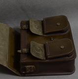 мужской портфель коньячно-коричневого цвета