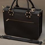 мужская сумка из толстой кожи