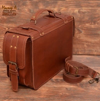 стильный большой портфель