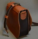 оригинальная женская сумка из кожи