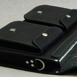 мужской кожаный портфель с 2 карманами