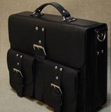 """большой черный портфель под 19"""" ноутбук"""
