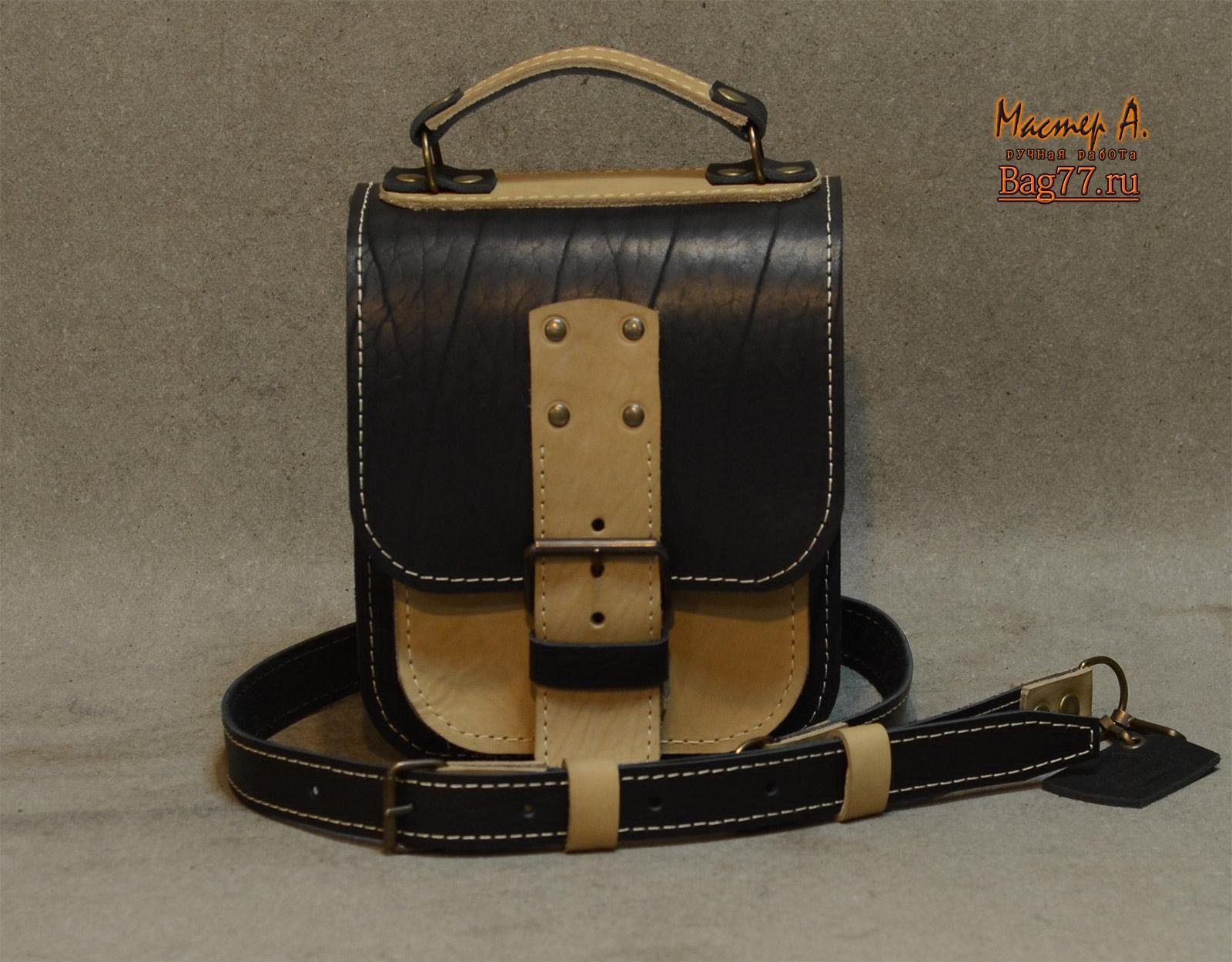 Кожаные сумки мужские своими руками 62