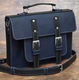 Оригинальный мужской портфель кожаной работы