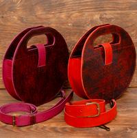 Оригинальные кожаные женские сумочки