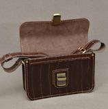Небольшая сумочка из кожи