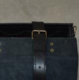 черный портфель ручной работы