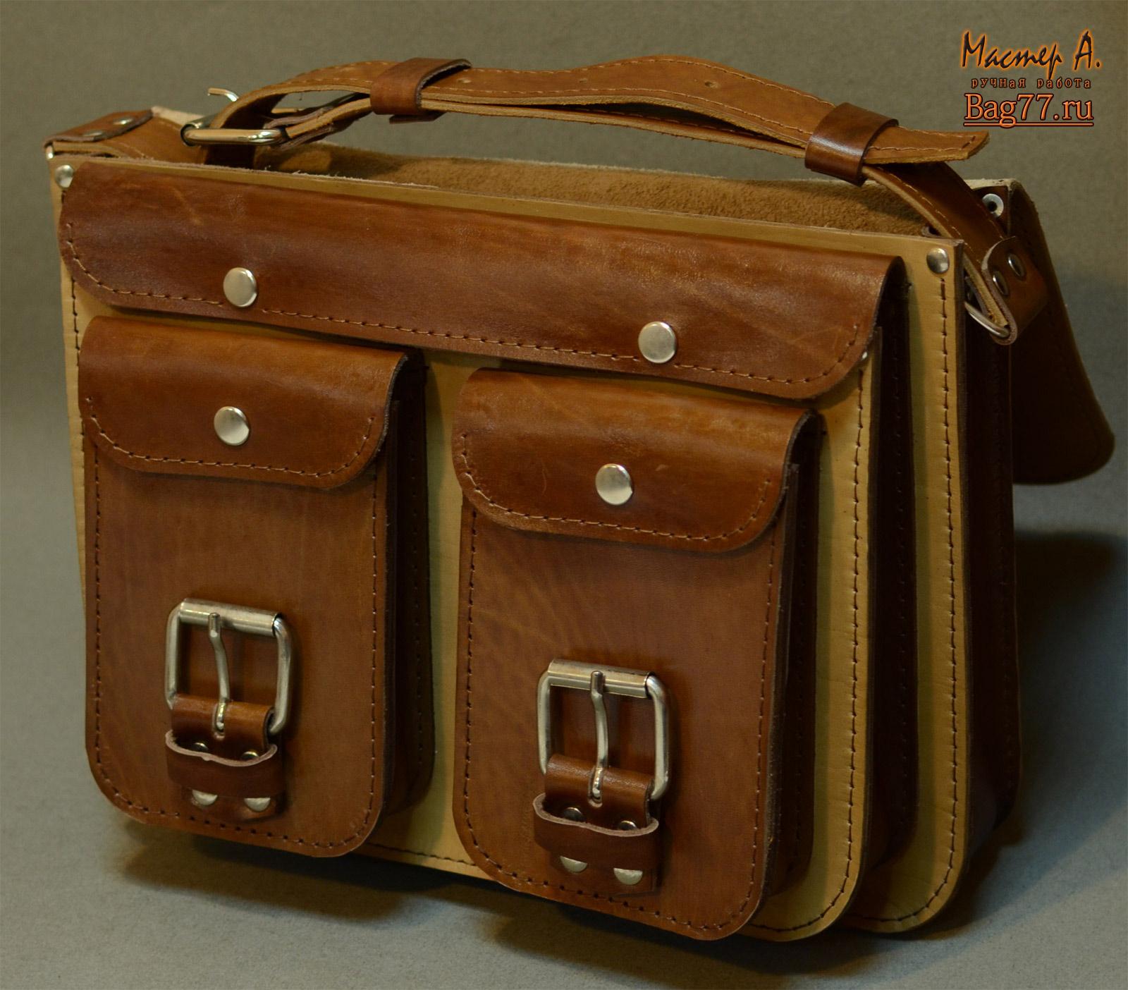 Кожаный портфель своими руками МозгоЧины 28