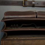 стильный портфель ручной работы