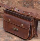 Небольшая женская сумочка из кожи