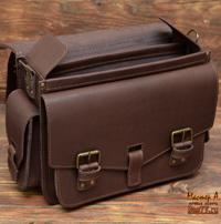 Оригинальный коричневый портфель