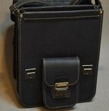 кожаный портфель на 2 отделения