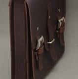 Портфель ручной работы из чепрака.