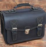 Брутальный темносиний портфель