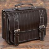 Коричневый классический портфель