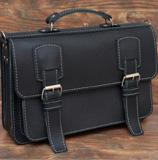 Оригинальный кожаный мужской портфель