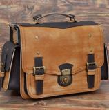 Большой двухцветный портфель