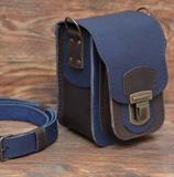 Небольшая двухцветная сумочка