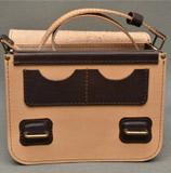 Стильная кожаная сумка