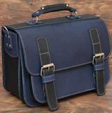 Вместительный двухцветный портфель