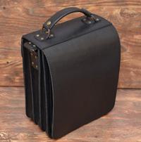Черный портфель - планшетка с кучей отделений