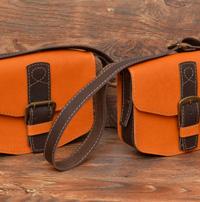 Позитивные двухцветные женские сумочки