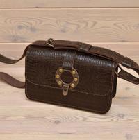 Женская сумочка под рептилию