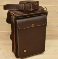 Компактный вертикальный портфель