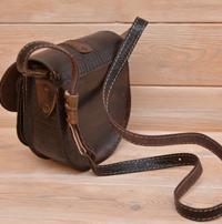 Оригинальная женская кожаная сумочка