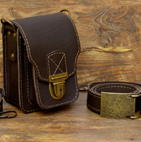 Оригинальная болтанка / сумка с поясным ремнем