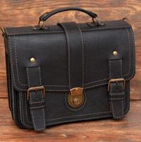 Оригинальный мужской кожаный портфель
