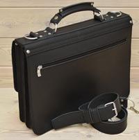 Классический черный портфель