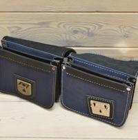 Сине-черные сумки-болтанки