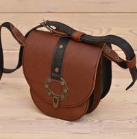 Двухцветная женская сумочка