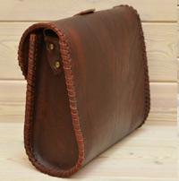 Женская сумка-плетенка
