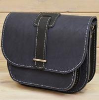 Сине-черная женская сумочка