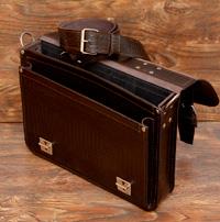 Легкий компактный портфель под рептилию