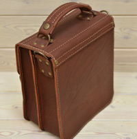 Оригинальная кожаная сумка
