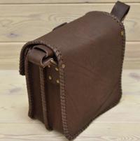 Оригинальная кожаная сумка ручной работы
