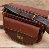 Оригинальная двухцветная женская сумочка
