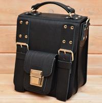 Оригинальная черная мужская сумка