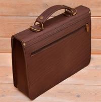 Лаконичный коричневый портфель
