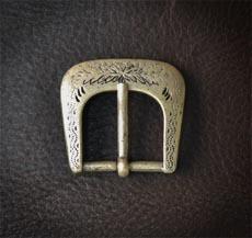 пряжка №55, старое серебро